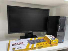 """DELL 20"""" LED with i5 4th Generation - 8 Gb Ram - 120 GB SSD - 1 Tb HDD"""
