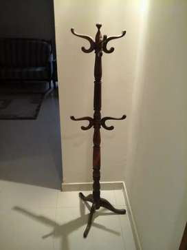 Sheesham brand new wood clothes stand