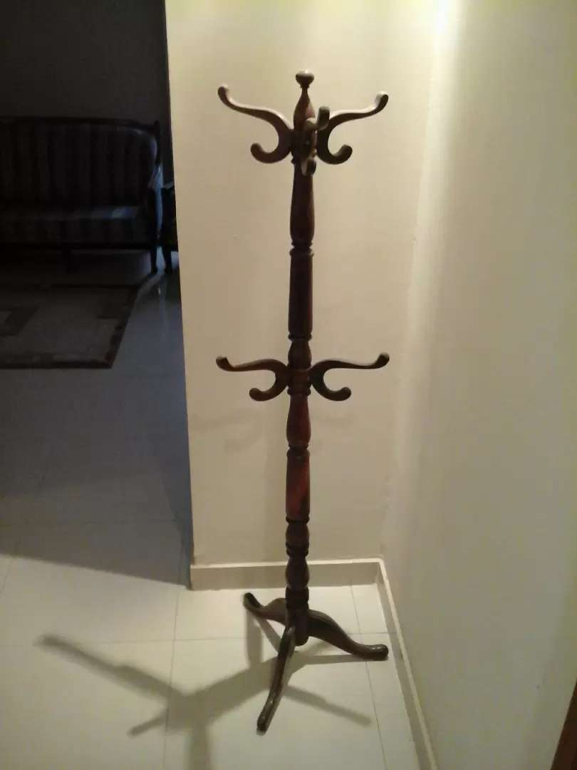 Sheesham wood clothes stand 0
