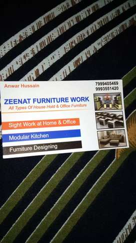 Carpenter for furniture and furnishing