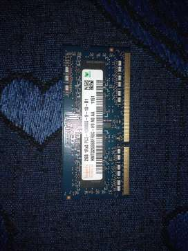 HYNIX 2 GB Ram for laptop