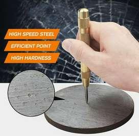 Penanda Titik Bor Kayu Aluminum Besi Stainless Steel Automatic