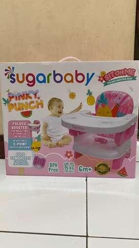 Folding booster seat sugar baby