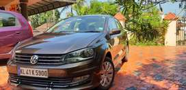 Volkswagen Vento 2015 Diesel Well Maintained