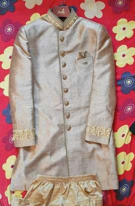 Shervani - Ethnic wear for men - Medium size - Used only once