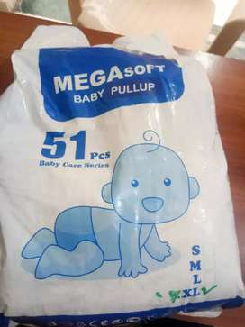 Diapers adult and baby