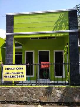 Rumah Minimalis dekat UNNES disewakan/kontrak