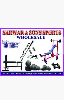 Gym equipments ( plates , rods , benhes and pull up bars )