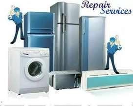 Ac, fridge, washing machine repair doorstep service