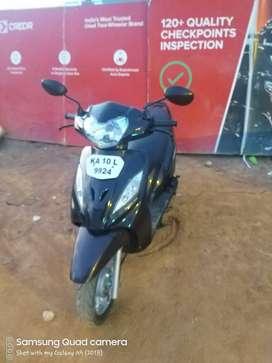 Good Condition TVS Wego Std with Warranty |  9924 Bangalore