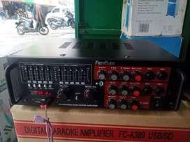 Amplifier first claas 1300 wat