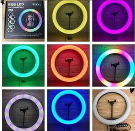 Ring Light 8 Colors full HD 32cm - Quick 30 Minutes Delivery