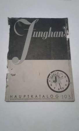 Katalog Junghans 1933