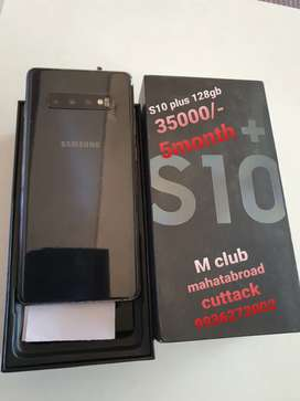 Samsung S10 plus 6month used @ 35000/-