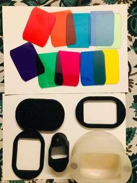 Good MagMod Kit + Godox Flash (Sony) for sale
