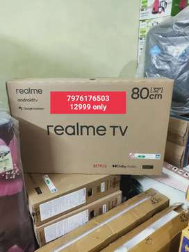 REALME LEDTV AVAILABLE 32 WITH BILL @12999 ONLY