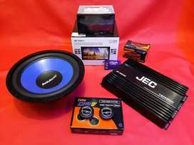 Paket Audio mobil komplit Head unit view camera & audio