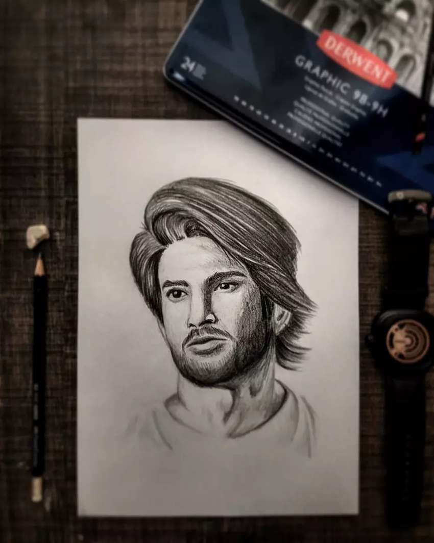 Pencil Sketch | Portrait Drawing | Customized art | Best gift 0
