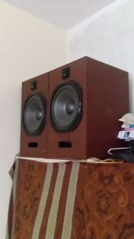 Sound system  in used