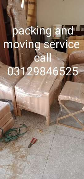 Relocation service and moving