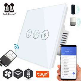 Electric Curtains Blind Wifi Switch dimmer Supports Alexa & Google