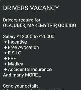 Driver for Ola uber Uttam Nagar