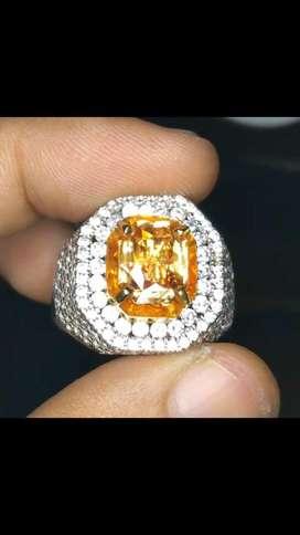 Natural yellow sapphire srilanka No heated memo gri clean