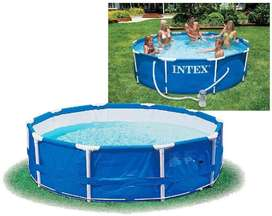 Intex 28212 METAL FRAME POOL SET 12X30IN MEATL FRAME POOL W-FILTER