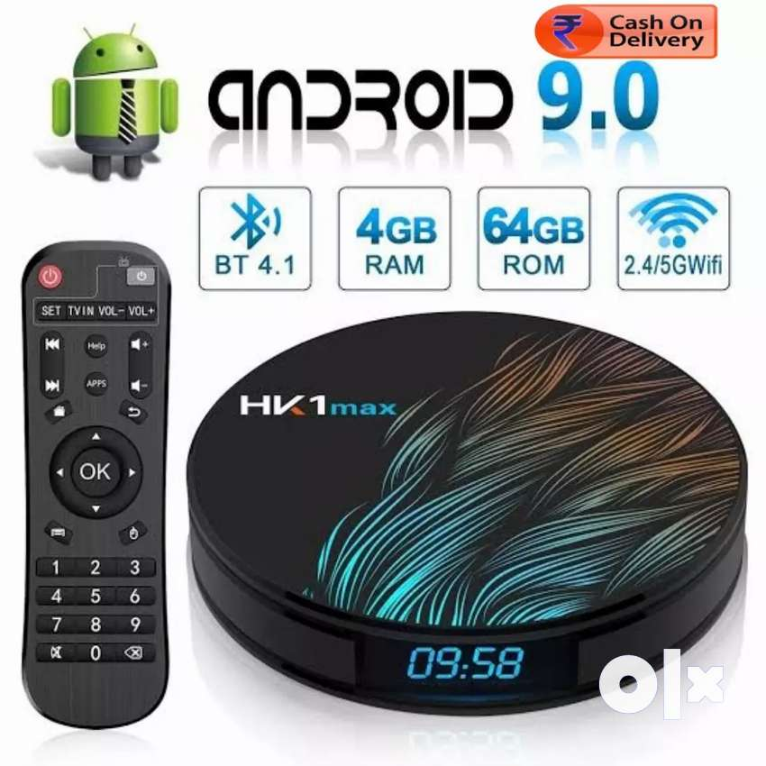 YOU CAN MAKE EXISTING OLD TV/LCD/LED/PROJECTOR Into 4K TV BOX 4GB 64GB 0