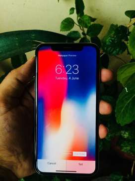Apple IPhone X Jv 64Gb PTA approved 10/10