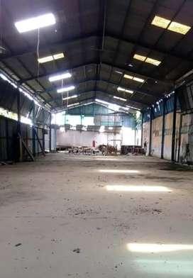 Disewakan gudang Randugarut 100m dr jln Pantura Semarang dkt Industri