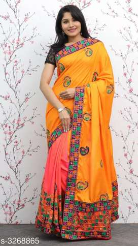 *Divine Stylish Sana Silk Sarees*