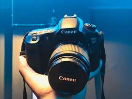 Canon eos 60d with kit lens