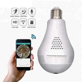 CCTV Model Lampu Bohlam WIFI semarang