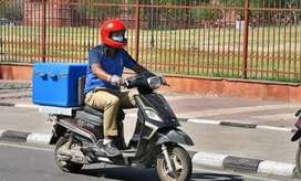 Urgent need of male candidates for delivery boy jobs.
