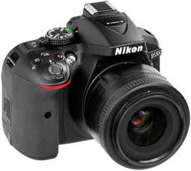 D5300 Nikon Camera with default lens