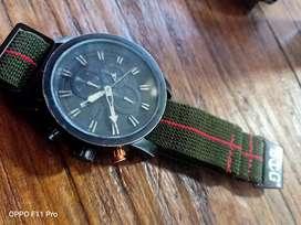 jam tangan alexandre christir chronograph black