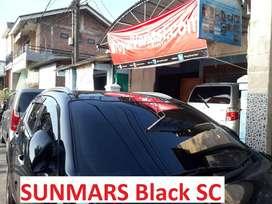 Kaca film SUNMARS BlackSC Panther Avanza Yaris Jazz Calya grand livina
