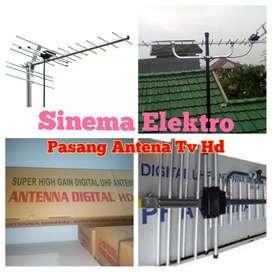 Agen jasa pasang sinyal antena tv digital Hd