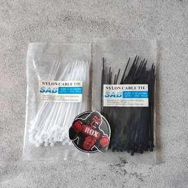 Kabel Ties / Kabel Tis / Kabel Dasi Kabel / Pengikat Kabel 10 cm
