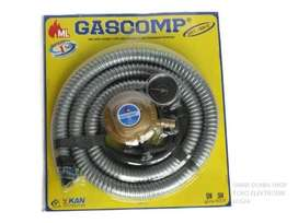 GASCOMP Paket Selang Regulator Gas GRT924E PROMO