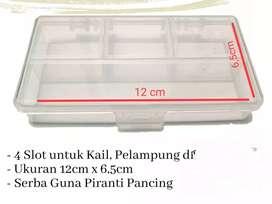 Kotak mata pancing dan timah uk. 11x7,5 cm