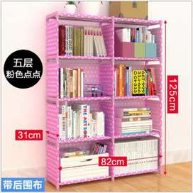 Durable foldable book rack...