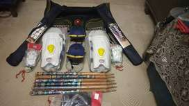 SG double hand full cricket kit.(Negotiable)