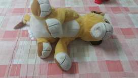 Stuffed toy tiger