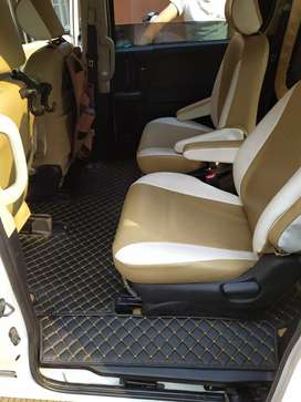 karpet lantai mobil 5D Honda freed Th 2008-2020 full bagasi kostum fit