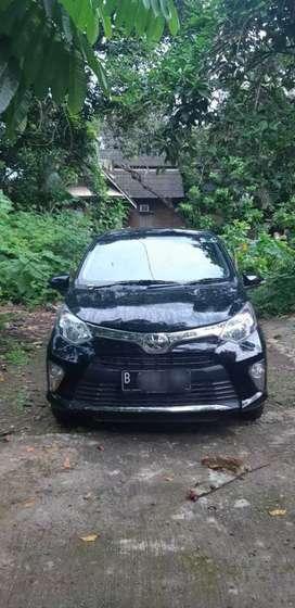 Toyota calya G matic 2019 black km 16 rb pemakai perfect