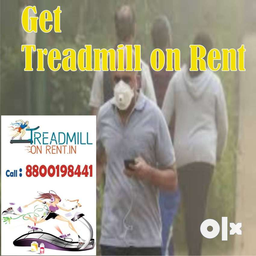 Treadmill on rent Motorized Treadmill call number on pic 0