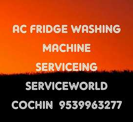 Ac fridge washing mechine Repairing