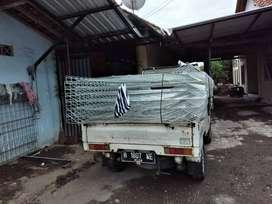 Jual Pagar Besi BRC Elektroplating Maluku Utara